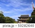 東京タワー 増上寺 夏の写真 50282640