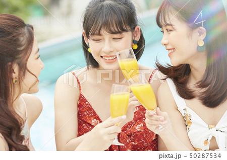 女性 女子旅 リゾート 50287534