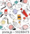 化粧 化粧品 バックグランドのイラスト 50288473