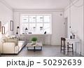 ソファ ソファー 長椅子のイラスト 50292639
