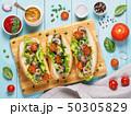 サンドイッチ ぱん パンの写真 50305829