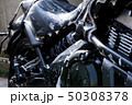 モーターサイクル 大型アメリカンバイクの洗車 50308378