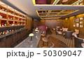レストラン 屋内 店内のイラスト 50309047