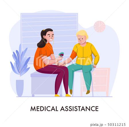 Nursery Home Assistance Composition  50311215