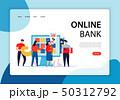 Online Banking Concept Banner 50312792
