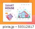 Smart House Concept Banner  50312817