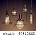 Vintage Light Bulbs Realistic Set 50312883