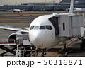旅客機 航空機 ジェット機の写真 50316871