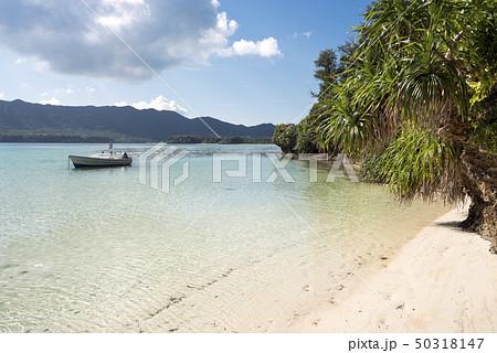 石垣島の川平湾と小舟 50318147