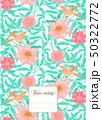 Floral  pattern, background 50322772