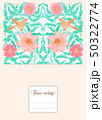Floral  pattern, background 50322774