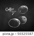 漿果 黒板 チョークのイラスト 50325587