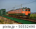 鉄橋 列車 電車の写真 50332490