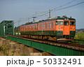鉄橋 列車 電車の写真 50332491