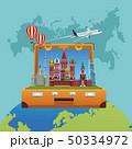 ロシア トラベル ポスターのイラスト 50334972