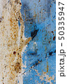 texture of rusty painted metal surface 50335947
