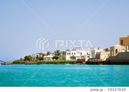 Bungalows near the water in El Gouna, Egypt 50337630