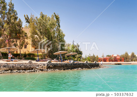 Bungalows near the water in El Gouna, Egypt 50337632
