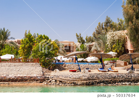 Bungalows near the water in El Gouna, Egypt 50337634