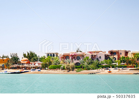 Bungalows near the water in El Gouna, Egypt 50337635
