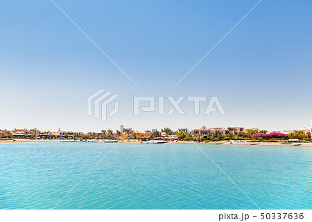 Bungalows near the water in El Gouna, Egypt 50337636