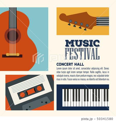 Festival music flyer 50341580