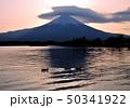 田貫湖と富士山-77051 50341922