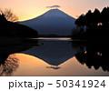 田貫湖の逆さ富士-77056 50341924