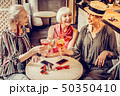 女 女性 紅茶の写真 50350410