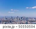 東京の広がる都市風景43 50350504