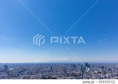 東京の広がる都市風景51 50350512