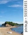 小豆島 エンジェルロード 海の写真 50355855