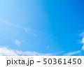 飛行機 青空 ジェット機の写真 50361450