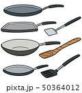 ベクトル フライパン 鍋のイラスト 50364012