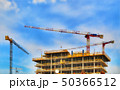 construction with cranes 50366512