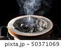 熱く燃える炭焼き七輪コンロ 50371069