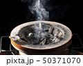 熱く燃える炭焼き七輪コンロ 50371070