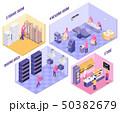 Bakery Isometric Illustration 50382679