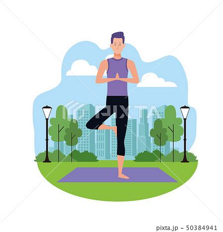 man yoga poses 50384941