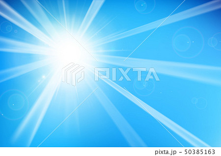 Abstract blue background with sunlight 002 50385163