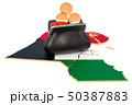 クウェート クウェート国 クウェイトのイラスト 50387883