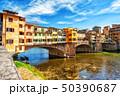 フィレンチェ フィレンツェ ベッキオ橋の写真 50390687