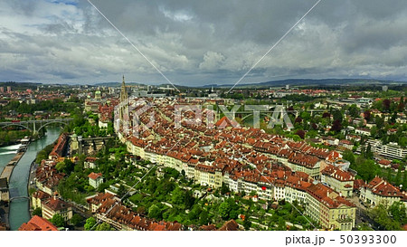Aerial shot of Old City of Bern, Switzerland 50393300