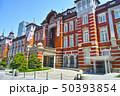 新緑の東京駅駅舎の景観 50393854