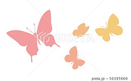 蝶のシルエット 50395660