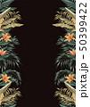 フラワー 花 トロピカルのイラスト 50399422