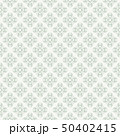 Green seamless pattern with a geometric shapes 50402415
