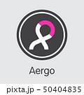 AERGO - Aergo. The Market Logo of Money or Market Emblem. 50404835