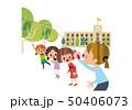 大縄跳び 50406073