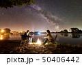 キャンプ 収容所 カップルの写真 50406442